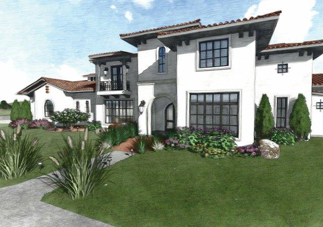 A luxury, contemporary hacienda